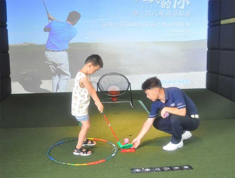 高尔夫进幼儿园