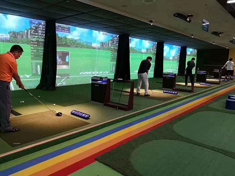 模拟高尔夫